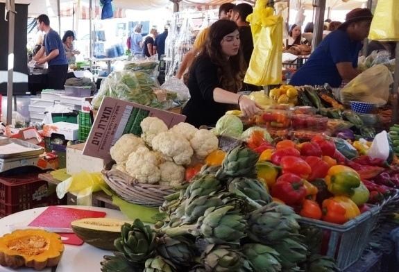Fridays at Framers Market at Namal Tel Aviv