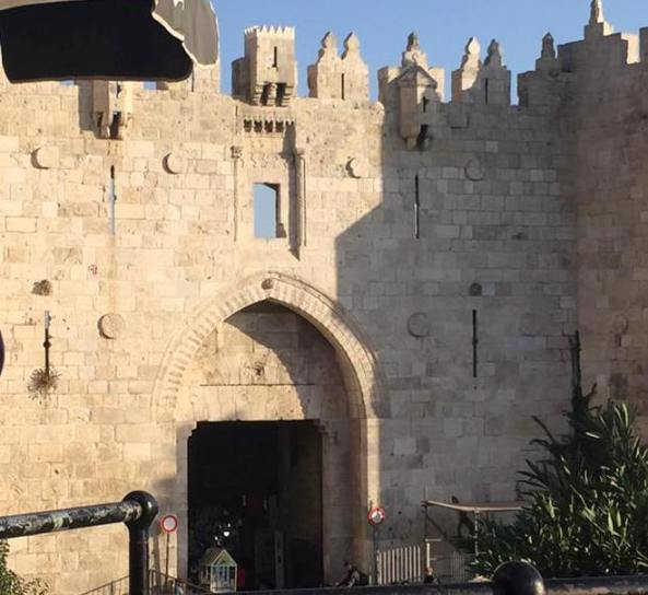 Old City of Jerusalem Damascus Gate