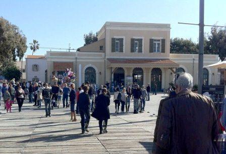 Tel Aviv Old Train Station - HaTachana - Performances, Shopping, Art, Lots of Fun