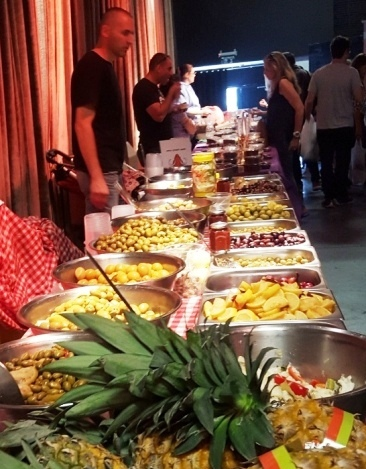Olives galore at Namal Tel Aviv Indoor Food Market
