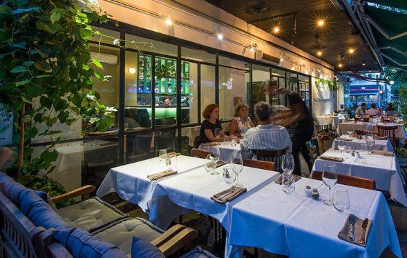 Pankina Kosher Italian restaurant in Tel Aviv
