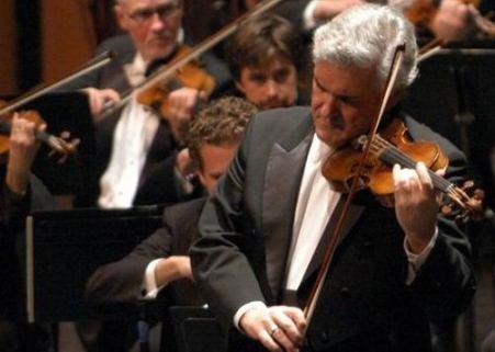 pichas zukerman at the israel philharmonic