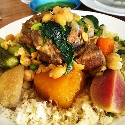 Raphael bistro best tel aviv restaurant serves lamb couscous