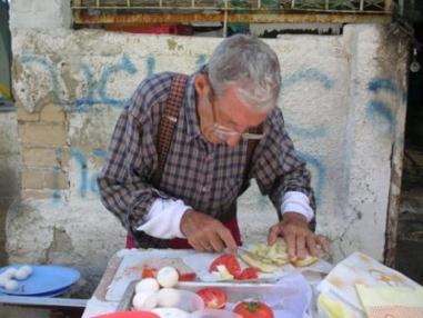 carmel market - fresh burekas platter