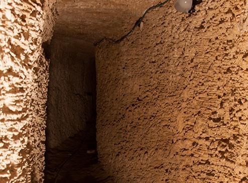 Tel Aviv underground Templar tunnel and cellars in Sarona