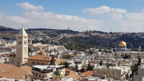 Scenic View of Jerusalem