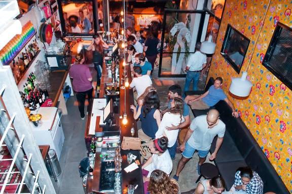 Shpagat gay friendly bar on Nachalat Binyamin in Tel Aviv