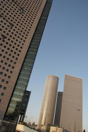 Tel Aviv skyscraper photos 3 Azrieli Center Towers