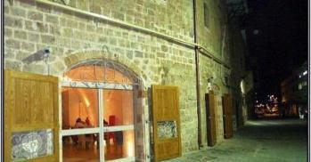 south american cuisine at casa nova restaurant in jaffa port historical building