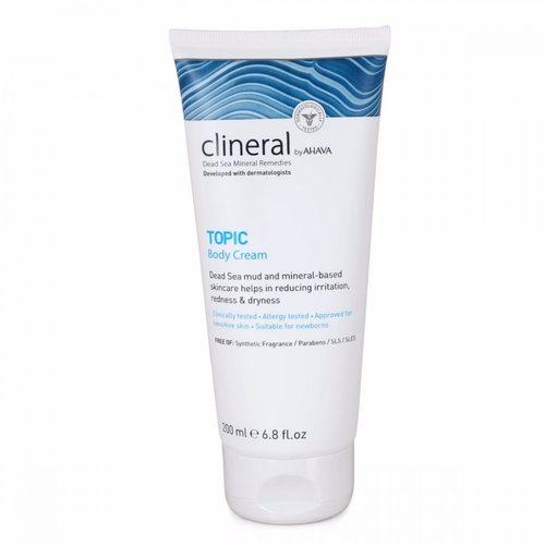 Clineral Dead Sea products such as this body cream are formulated for people with skin disorders