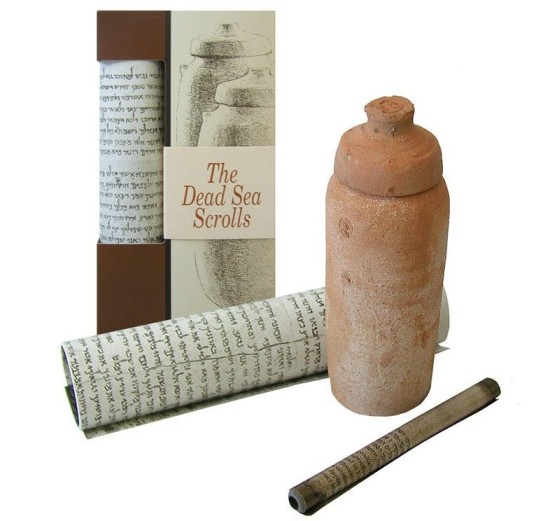 A replica of the famous Dead Sea Scrolls from the Israel Musuem makes a great gift from Israel