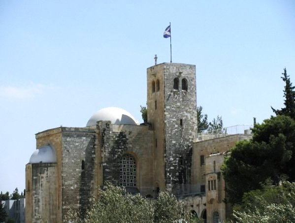 St. Andrews Scots memorial church and guesthouse in Jerusalem