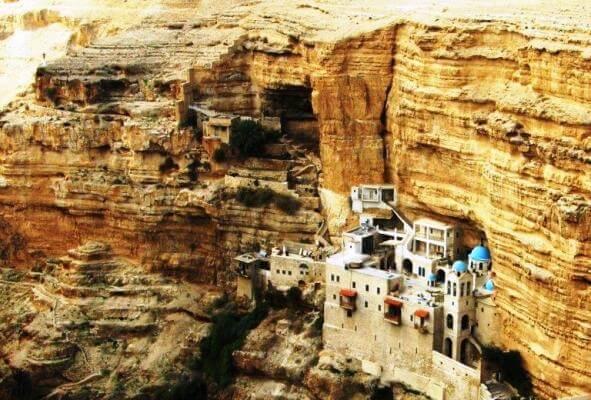St. George Choziba Monastery in the Judean Desert