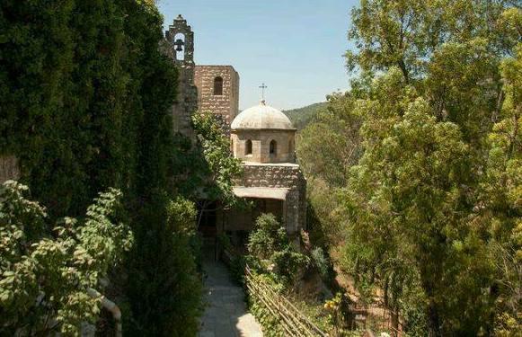 alley near St Johns Church in Ein Kerem Jerusalem Hills Christain Sites in Israel
