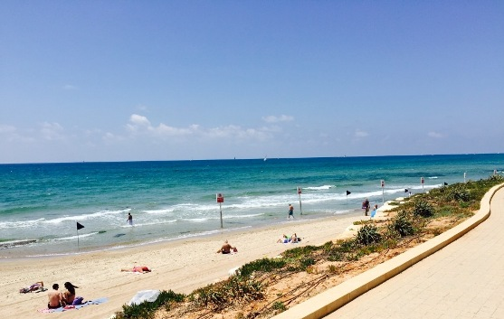 Sea and Sun Beach in Tel Aviv - Hof HaTzuk South