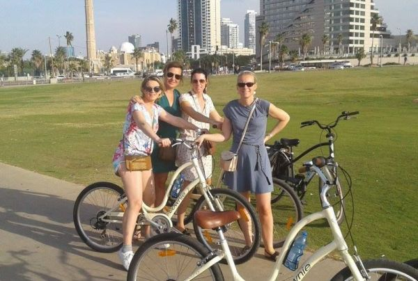 fun, daily Tel Aviv biking tours
