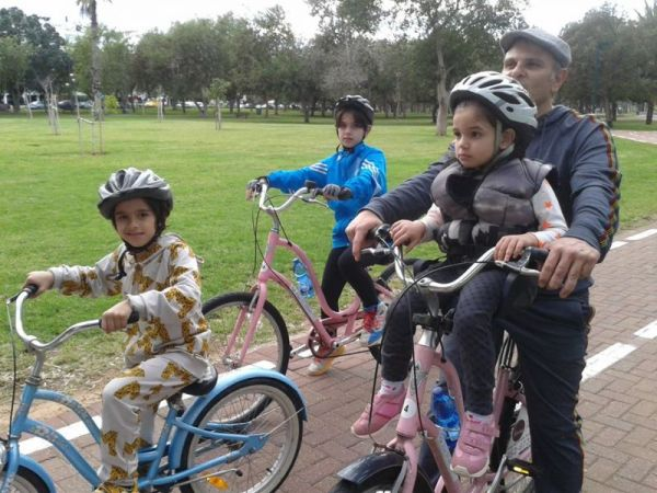 Tel Aviv Private Bike Tours are great for families