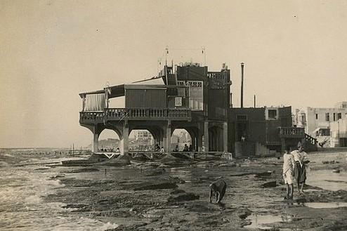 Tel Aviv's first ever seaside restaurant called Galei Aviv or simple the 'Casino