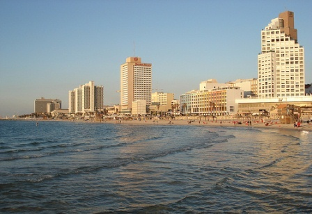 Luxury hotels along the Tel Aviv Beachfront