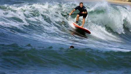 tel aviv has an avid surfing culture