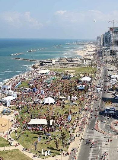 tel aviv marathon in march - a tel aviv happening