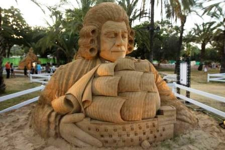 tel aviv childrens exhibit giant sand sculptures at the eretz israel musuem this summer
