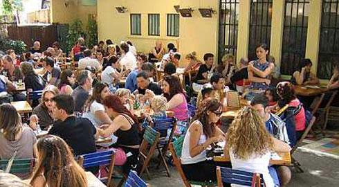 Tel Aviv Streets Cafe Suzanna Neve Tzedek
