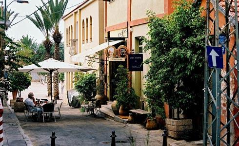 neve tzedek shabazi street in tel aviv-yafo