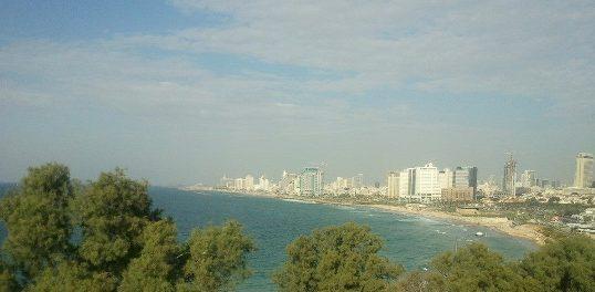 view of Tel Aviv from Jaffa hill