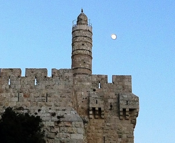Tower of David in the Old City of Jerusalem near Jaffa Gate