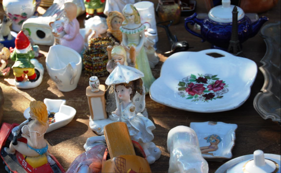 Trinkets at the Jaffa Flea Market - Shuk Hapishpishim
