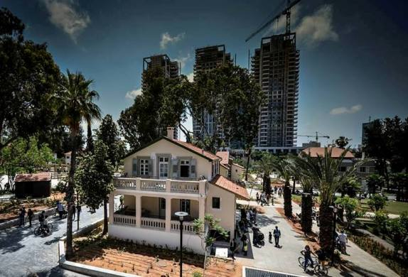 Sarona Tel Aviv a village oasis in the heart of the city