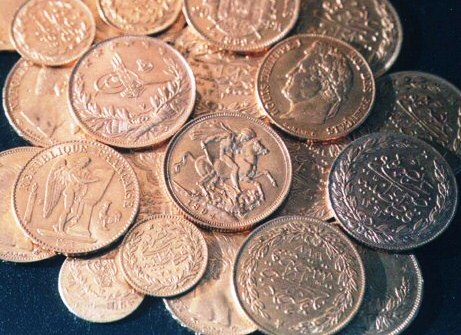 hidden gold coins found in Templar building in Sarona Tel Aviv