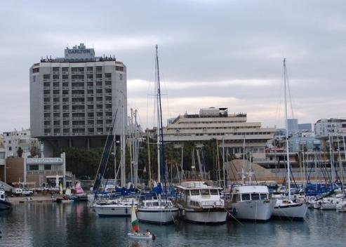 tel aviv marina and the carlton