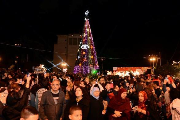 Christmas Tree in Tel Aviv Jaffa