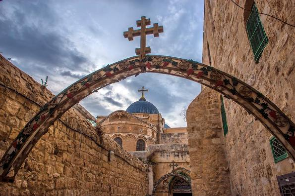 Church of the Holy Sepulchre in Jerusalem the most important Christian site in the Holy Land