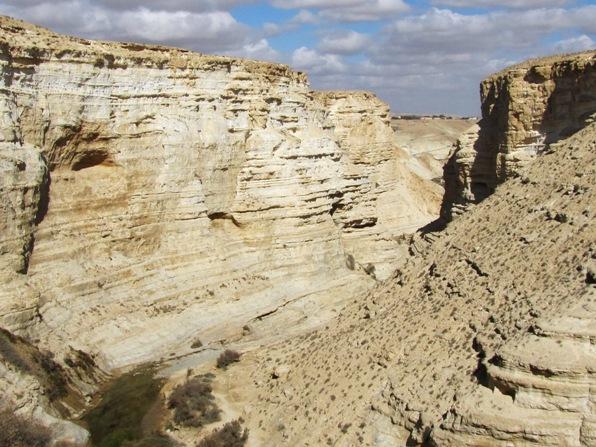 Ein Ovdat Canyon in the Negev