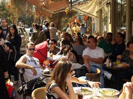 go tel aviv yafo cafes at exquisite streets and neighborhoods