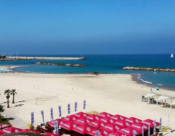 Acadia Beach in Herzliya Israel