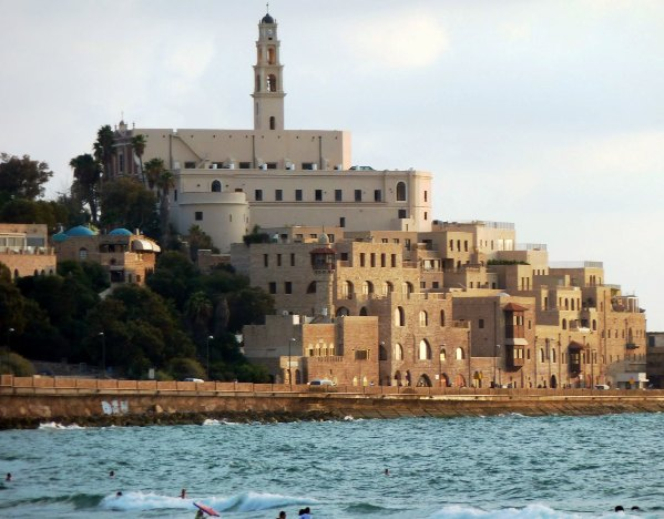 View of the Old City of Jaffa from the Sea