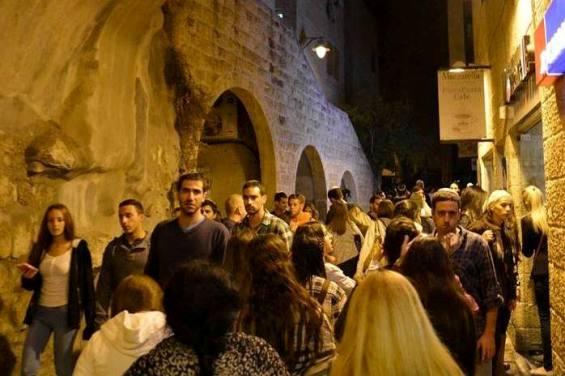 the Jewish Quarter of the Old City of Jerusalem