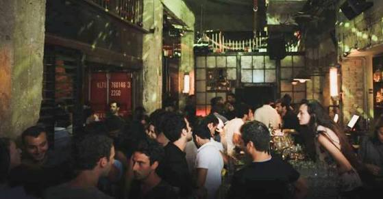 Jimmy Who Bar in Tel Aviv