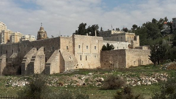 the Monastery of the Cross in the Valley of the Cross in Jerusalem
