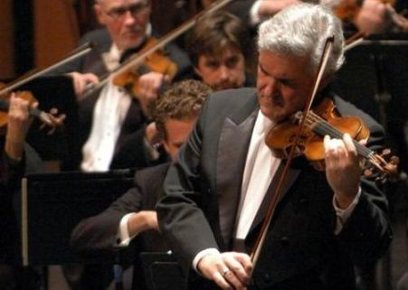 pichas zukerman at the israel philharmonic
