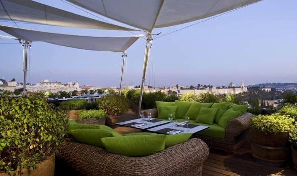 Mamilla Hotel's Rooftop Restaurant in Jerusalem