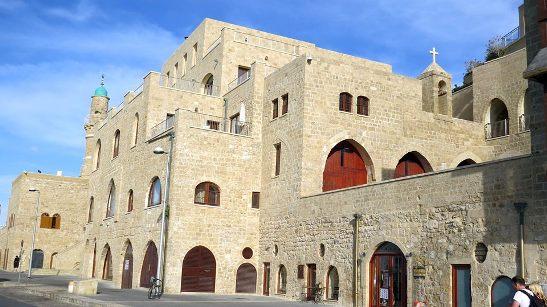 armenians consider st. nicholas church as the site of house of Simon the Tanner