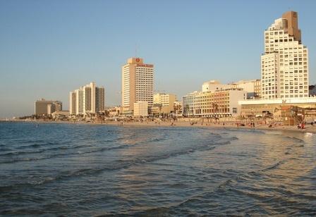 Luxury hotels along the Tel Aviv Beachfront