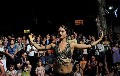 tel aviv news white night on the full moon in june
