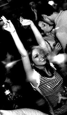 Tel Aviv nightlife Fetish Friday at Bootleg Maxim Club woman dancing