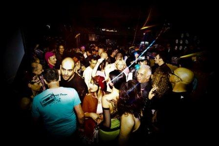 Tel Aviv nightlife Fetish Friday Bootleg Maxim Purim Party